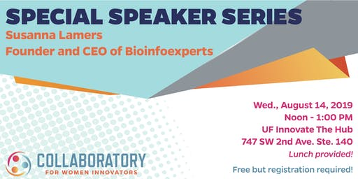 Special Speaker Series - Susanna Lamers, Founder and CEO of Bioinfoexperts