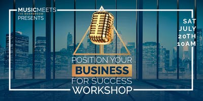 Position Your Business For Success!