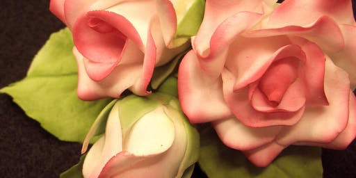Introduction to Wired Sugarcraft Flowers - Roses (2 Tues Eves)