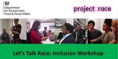 Let's talk Race inclusion workshop - SCS