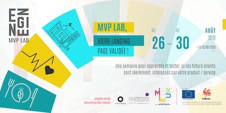 MVP LAB #7 : Une semaine pour faire de votre idée un business billets
