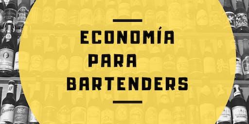 Economía para Bartenders con Eliseo Arguelles