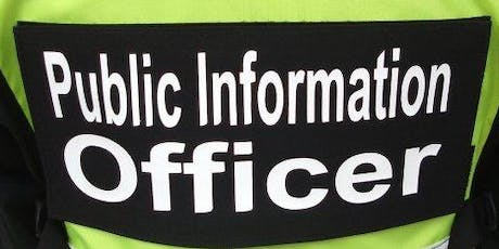 Public Information Officer & Joint Information System tickets