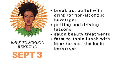 Grown-Up Women's Camp Lottery : September 3 - Back to School Renewal