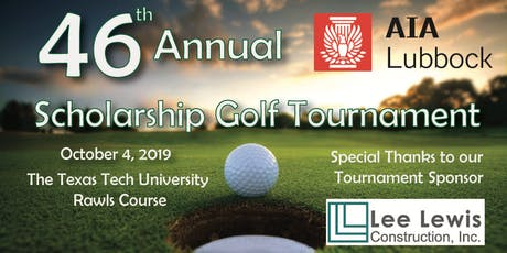 AIA Lubbock's 46th Annual Scholarship Golf Tournament tickets