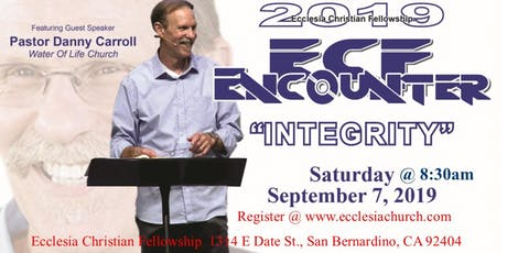 2019 ECF Encounter - Integrity tickets