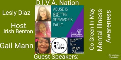 D I.V.A.Nation Lunch & Learn Against Domestic Violence