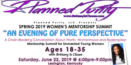 An Evening of Pure Perspective: A Chain-Breaking Event for Women of Worth