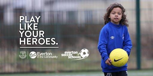Everton Soccer School - Orford Jubilee Hub