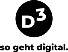 D3 - so geht digital logo