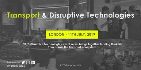 Transport & Disruptive Technologies tickets