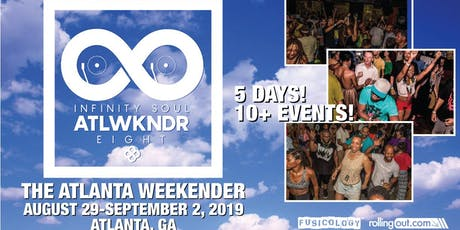 THE ATLANTA WEEKENDER/ATLWKNDR- 2019 tickets