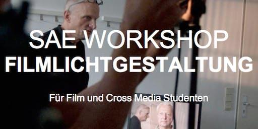 """""""Meet the professionals""""-Event: Filmlichtgestaltung mit Achim Dunker @ SAE"""