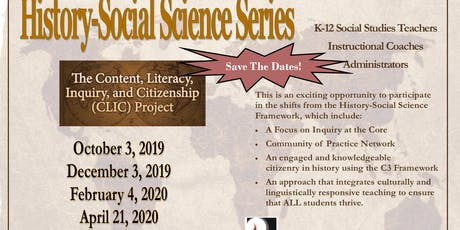 History Social Science Series-(CLIC)Project tickets