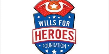 Wills for Heroes Clinic for DC/Maryland Resident First Responders & Veterans - Bethesda, MD - Free Estate Planning Documents tickets