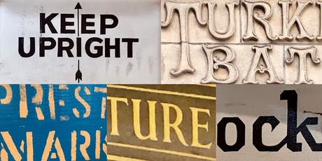 Typography walking tour of Preston with the Two a.m. Press tickets