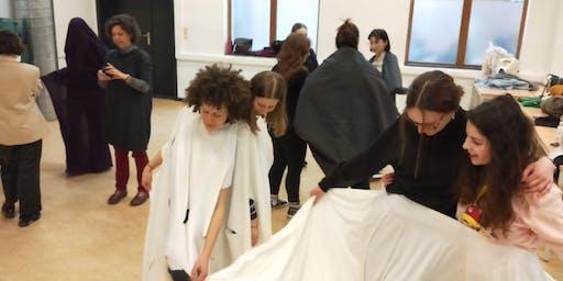 """WORKSHOP Smart Textil, """"Corpo-Reality, pensant des de la peça"""""""