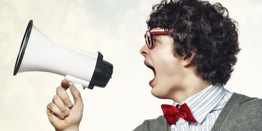 """""""Говори - красиво!"""" Открытый мастер-класс развития голоса и речевой техники"""