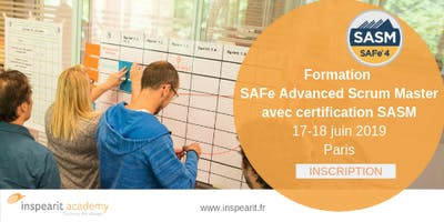 Formation SAFe Advanced Scrum Master