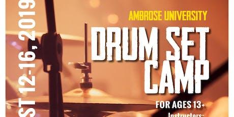 Ambrose University Drum Set Camp tickets