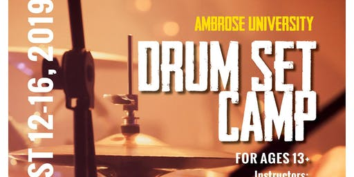 Ambrose University Drum Set Camp