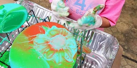 Children's Acrylic Pouring Class tickets