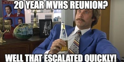 20-year Reunion MVHS Class of '99