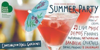 Food Drink Devon's Summer Networking Party