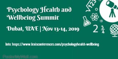 Psychology Health and Well-being Summit tickets