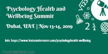Psychology Health and Well-being Summit