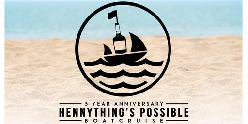 Hennything's Possible: 3rd Anniversary Boat Ride