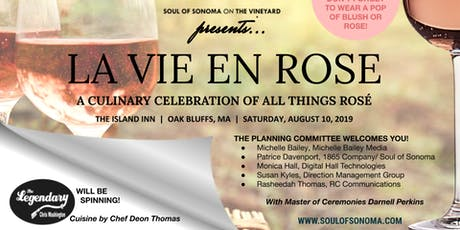 "Soul of Sonoma on the Vineyard ""La Vie en Rose"" tickets"