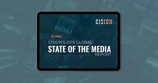 """Unveiling of Cision's 2019 """"State of the Media"""" Survey Results"""