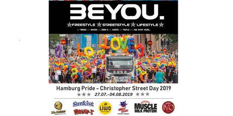 BeYou. - FEELGOOD // CSD Hamburg 2019 Tickets