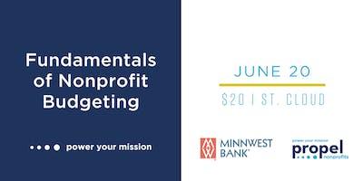 Fundamentals of Nonprofit Budgeting, St. Cloud - June 20, 2019