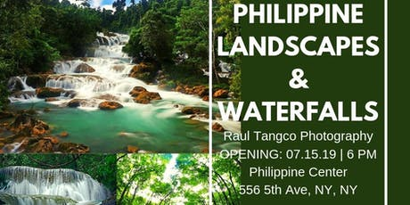 Philippine Landscapes and Waterfalls tickets