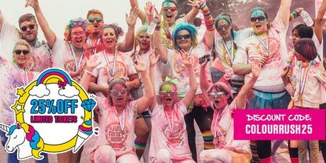 Northampton Fun Colour Rush 2019 tickets