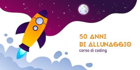 50 Anni di Allunaggio - Corso di introduzione al Coding [9-11 anni] biglietti