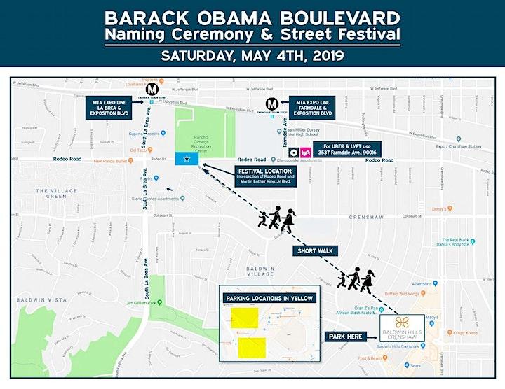 Obama Blvd Naming Ceremony & Street Festival image