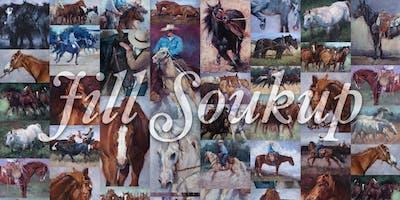 Western Art - Oil Painting Demonstration by Jill Soukup