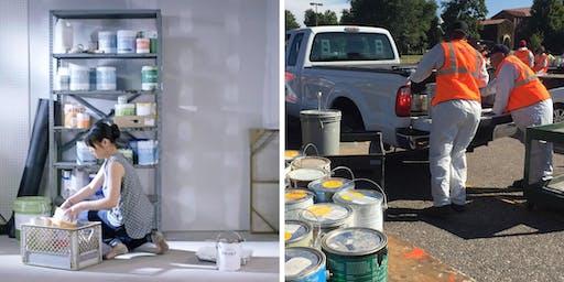 Paint Drop-Off Event - North Smithfield Highway Garage