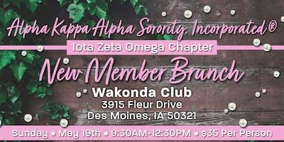 Alpha Kappa Alpha Sorority, Inc. | Iota Zeta Omega | New Member Brunch