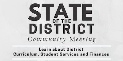 State of the District // Estado del Distrito