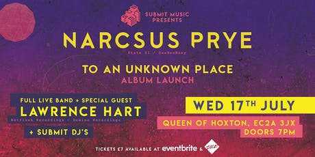 Narcsus Prye Album Launch Party tickets