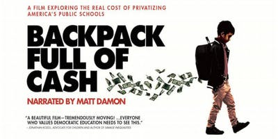 RBBB Screening of Backpack Full of Cash