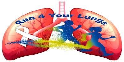 Run 4 Your Lungs - Virtual 5K Run/Walk - Nov. 1st thru Nov. 22nd