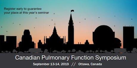Pulmonary Function Testing Symposium 2019 tickets