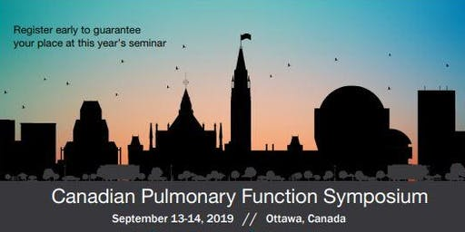 Pulmonary Function Testing Symposium 2019