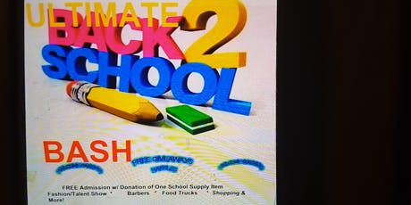 The Ultimate Back-2-School Vendor Event! tickets