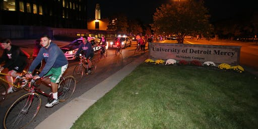 2019 Detroit Mercy - Midnight Bike Ride